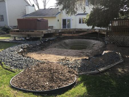 Removed Pool and Deck