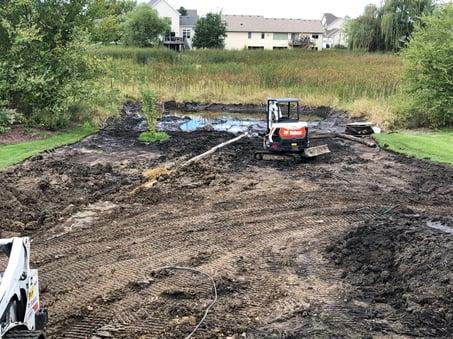 Regrading the Backyard