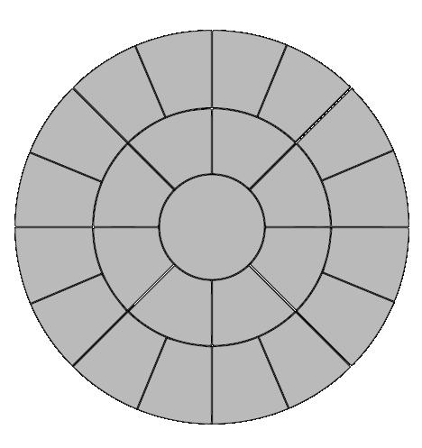 Circle Paver Pattern