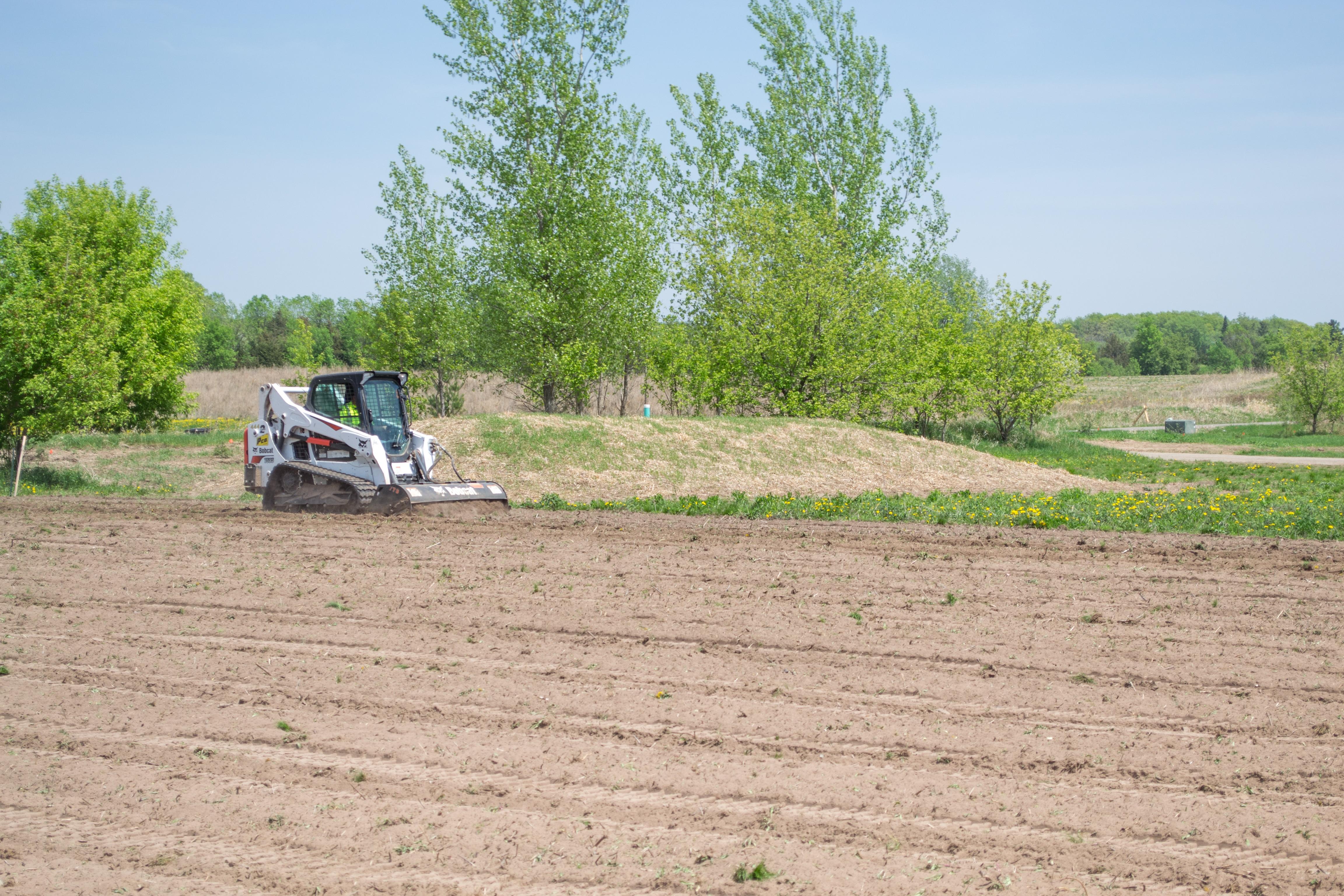 Tilling Soil
