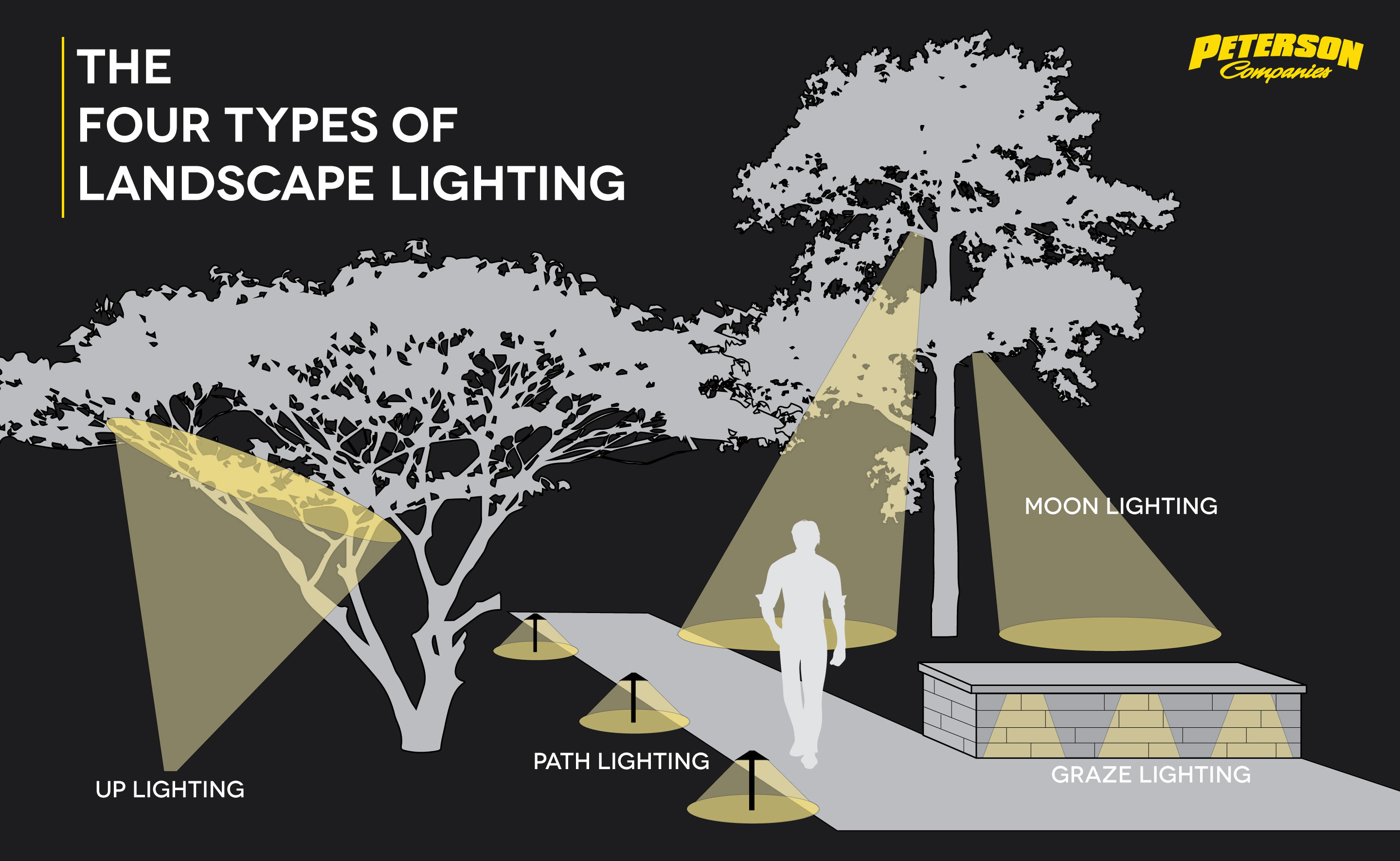 Four Types of Landscape Lighting
