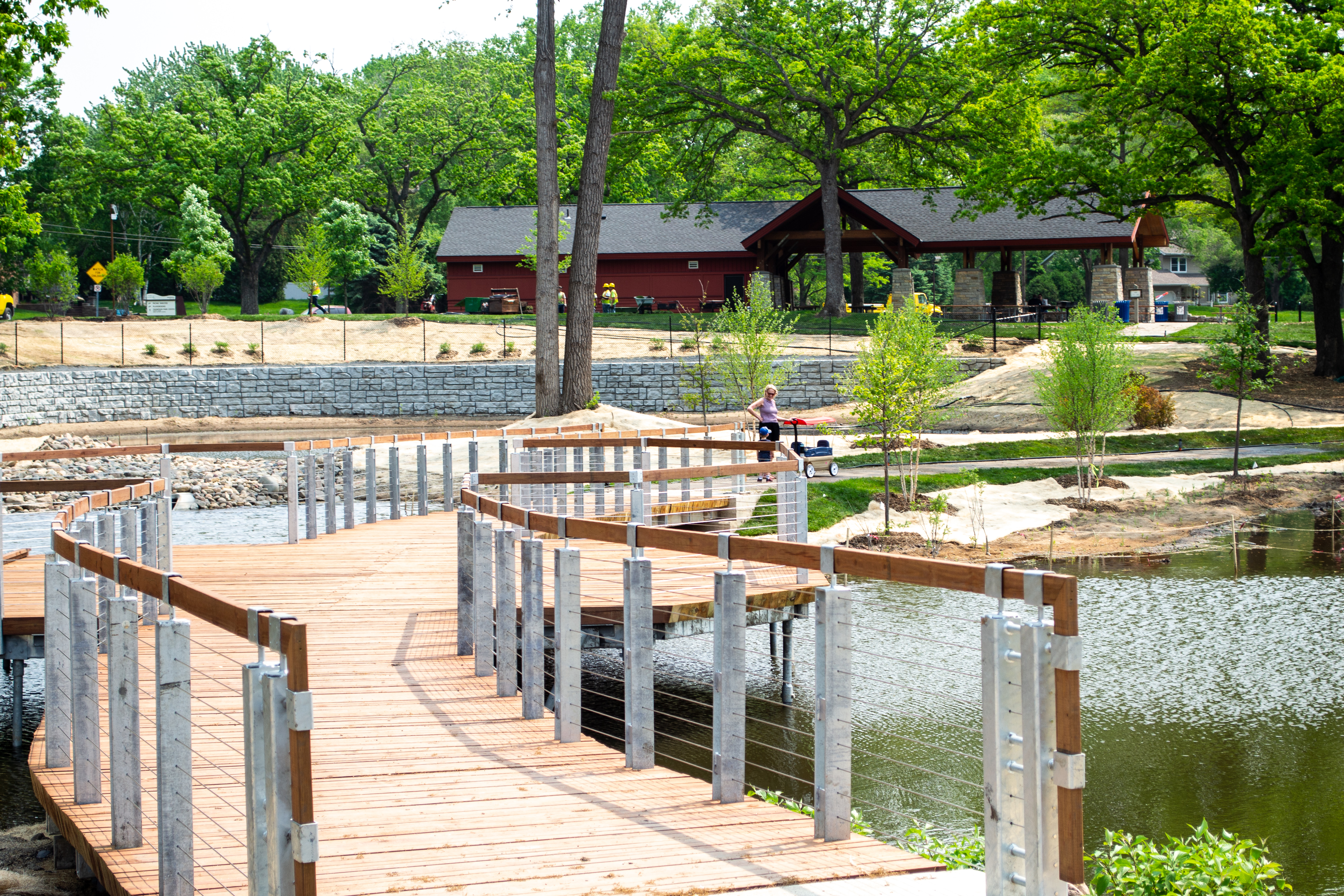 Thompson Lake Boardwalk & Restoration